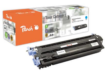 Peach  Tonermodul cyan kompatibel zu HP LaserJet CP 2600