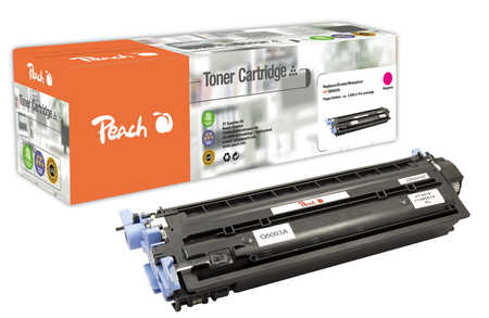 Peach  Tonermodul magenta kompatibel zu HP LaserJet CP 2600