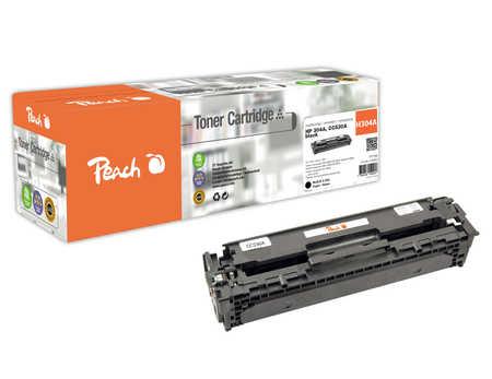 Peach  Tonermodul schwarz kompatibel zu HP Color LaserJet CM 2320 FXI MFP