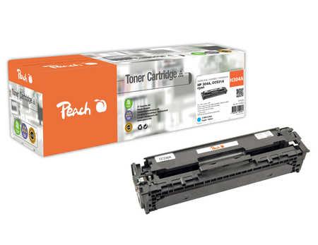 Peach  Tonermodul cyan, kompatibel zu HP Color LaserJet CM 2320 FXI MFP