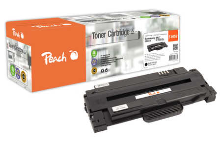 Peach  Tonermodul schwarz kompatibel zu Samsung ML-2525