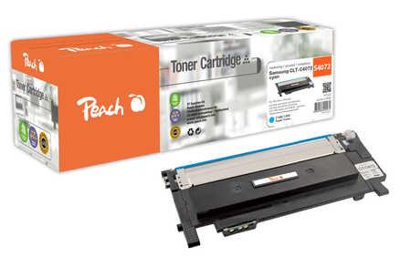 Peach  Tonermodul cyan kompatibel zu Samsung CLP-320 Series