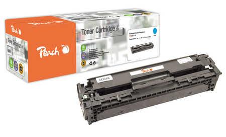 Peach  Tonermodul cyan kompatibel zu HP LaserJet CP 1525