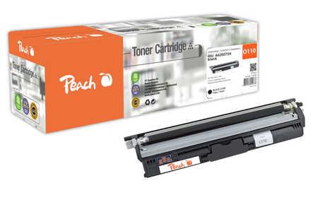 Peach  Tonermodul schwarz kompatibel zu OKI C 110