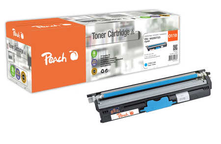 Peach  Tonermodul XL cyan kompatibel zu OKI C 110