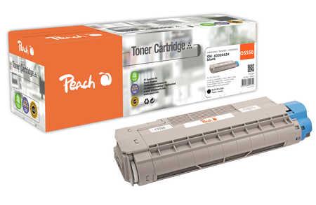 Peach  Tonermodul schwarz kompatibel zu OKI C 5800 DN