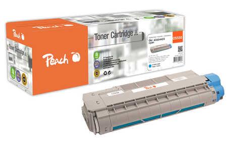 Peach  Tonermodul cyan kompatibel zu OKI C 5800 DN