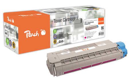 Peach  Tonermodul magenta kompatibel zu OKI C 5800 DN