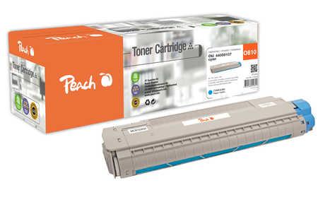 Peach  Tonermodul cyan kompatibel zu OKI C 830 CDTN