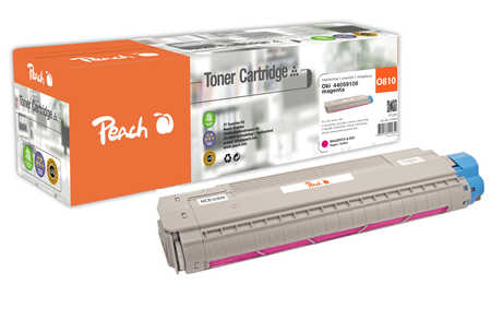 Peach  Tonermodul magenta kompatibel zu OKI C 830 CDTN