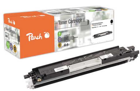 Peach  Tonermodul schwarz kompatibel zu HP LaserJet CP 1025 NW Color