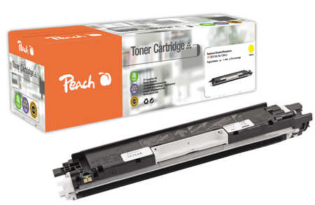 Peach  Tonermodul gelb, kompatibel zu HP LaserJet CP 1025 NW Color