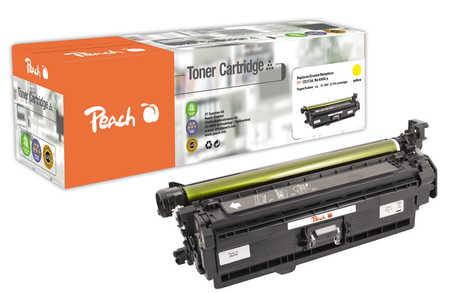 Peach  Tonermodul gelb, kompatibel zu HP Color LaserJet Enterprise CP 5525 N