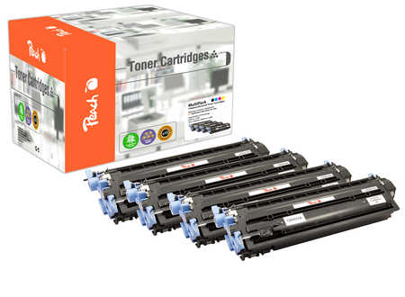 Peach  Spar Pack Tonermodule kompatibel zu HP Color LaserJet 2600