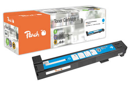 Peach  Tonermodul cyan kompatibel zu HP Color LaserJet CM 6040 MFP
