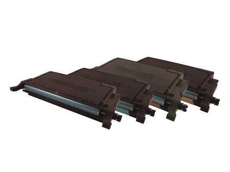 Peach  Spar Pack Tonermodule kompatibel zu Samsung CLP-620