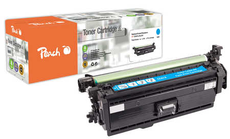 Peach  Tonermodul cyan, kompatibel zu HP Color LaserJet Managed M 575 cm