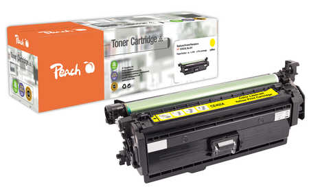 Peach  Tonermodul gelb kompatibel zu HP Color LaserJet Managed M 575 cm