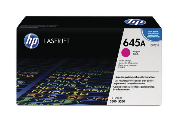 Original  Tonerpatrone magenta HP Color LaserJet 5550 Series