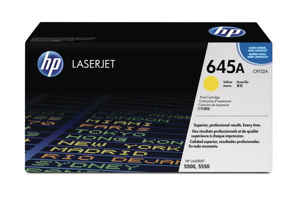 Original  Tonerpatrone gelb HP Color LaserJet 5550 Series