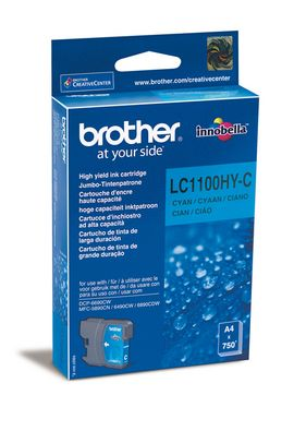 Original  Tintenpatrone cyan High Capacity Brother MFC-6490 CW