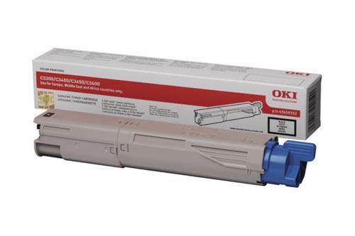 Original  Tonerpatrone schwarz OKI C 3300
