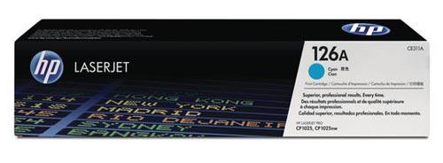 Original  Tonerpatrone cyan HP LaserJet CP 1000 Series