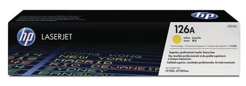 Original  Tonerpatrone gelb HP LaserJet CP 1025 NW Color