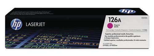 Original  Tonerpatrone magenta HP LaserJet CP 1000 Series