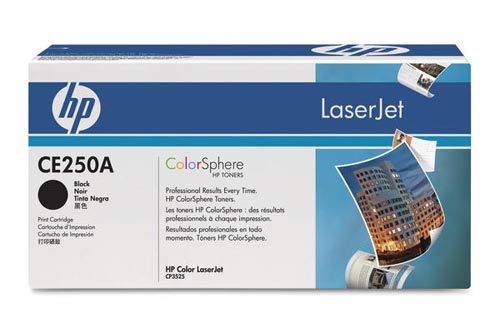 Original  Tonerpatrone schwarz HP Color LaserJet CM 3500 Series