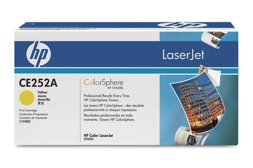 Original  Tonerpatrone gelb HP Color LaserJet CM 3500 Series