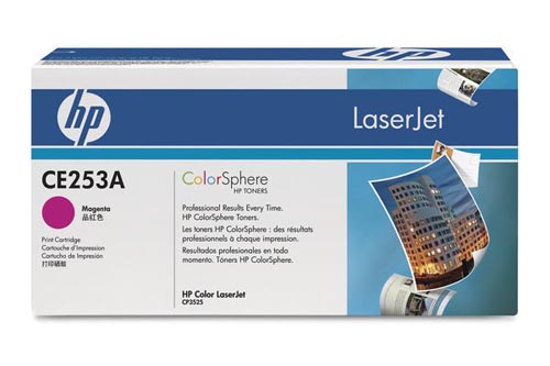 Original  Tonerpatrone magenta HP Color LaserJet CM 3500 Series