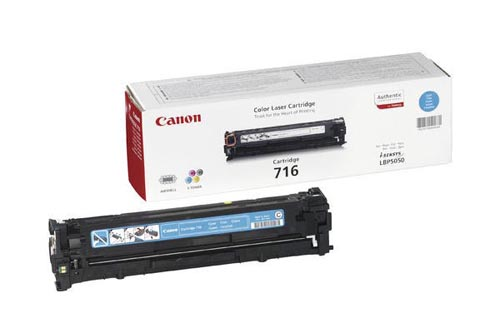 Original  Tonerpatrone cyan Canon iSENSYS MF 8040 cn