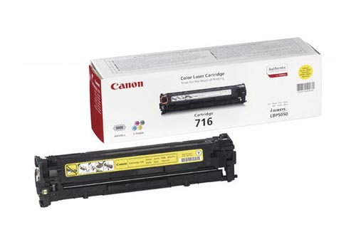 Original  Tonerpatrone gelb Canon iSENSYS MF 8040 cn