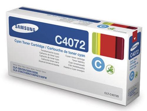 Original  Tonerpatrone cyan Samsung CLP-320 Series
