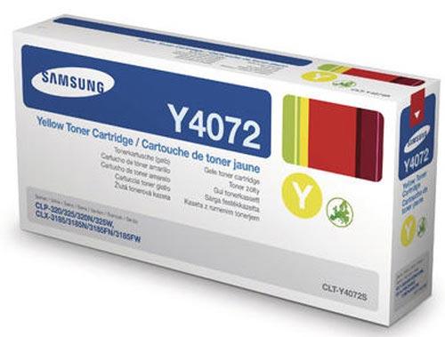 Original  Tonerpatrone gelb Samsung CLP-320 Series