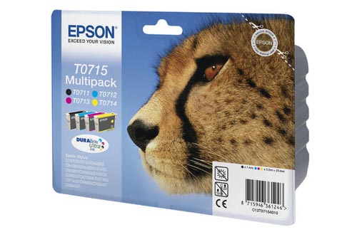Original  Multipack Tinte schwarz, color, Epson Stylus D 78