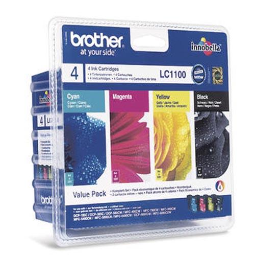 Original  Valuepack Tinte schwarz, color, Brother MFC-6490 CW