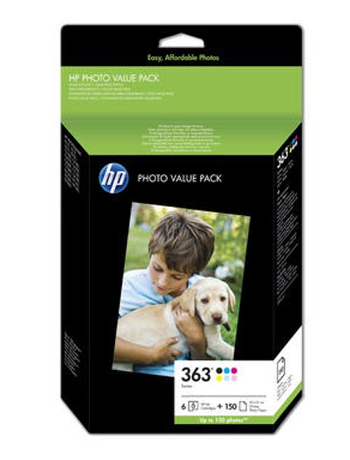 Original  Bundle Tinte color, 6-farbig, HP PhotoSmart C 6280
