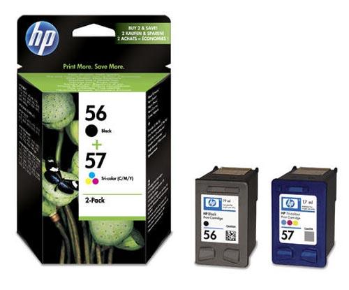 Original  Combopack Tinte schwarz, color, HP DeskJet 9680
