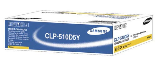 Original  Tonerpatrone gelb Samsung CLP-510