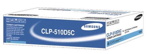 Original  Tonerpatrone cyan Samsung CLP-510