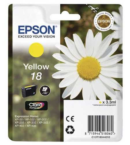 Original  Tintenpatrone gelb Epson Expression Home XP-302