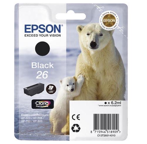 Original  Tintenpatrone schwarz Epson Expression Premium XP-700