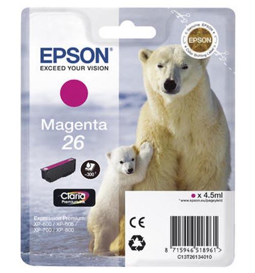 Original  Tintenpatrone magenta Epson Expression Premium XP-700
