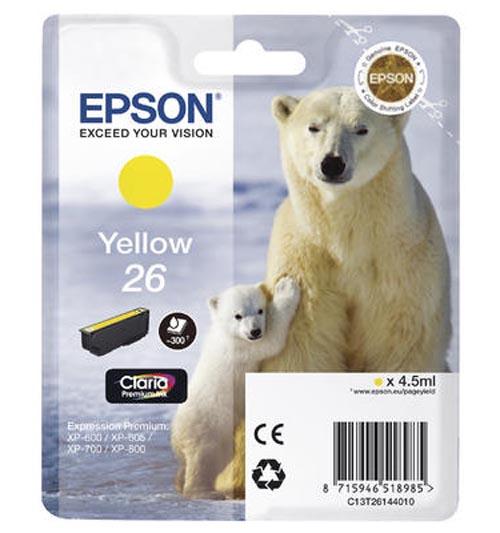 Original  Tintenpatrone gelb Epson Expression Premium XP-700