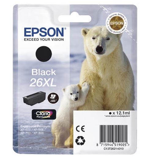 Original  Tintenpatrone XL schwarz Epson Expression Premium XP-700
