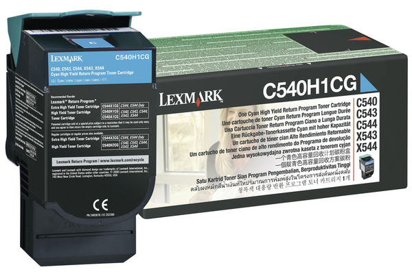 Original  Tonerpatrone schwarz Lexmark C 544 DN