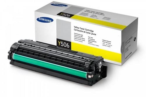 Original  Tonerpatrone gelb Samsung CLP-680