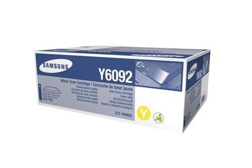 Original  Tonerpatrone gelb Samsung CLP-775 ND